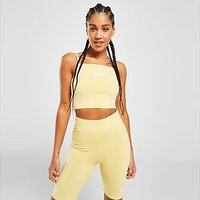 Fila Slim Strap Crop Top - Yellow - Womens