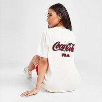 Fila x Coca-Cola Back Logo Baseball Top - White - Womens