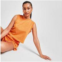 Nike Washed Tank Top - Orange - Womens