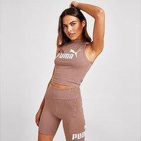Puma Core Slim Vest Top - Pink - Womens