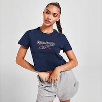 Reebok Core Crop T-Shirt - Vector Navy - Womens