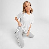 adidas Originals 3-Stripes Trefoil Boyfriend T-Shirt - Grey - Womens