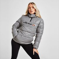 Ellesse Reflective Overhead Padded Jacket - Silver - Womens
