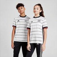 adidas Germany 2020 Home Shirt Junior - White - Kids