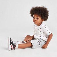 Fila Oskar All Over Print T-Shirt/Shorts Set Infant - White - Kids