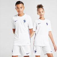 Nike France 2020 Away Shirt Junior - White - Kids