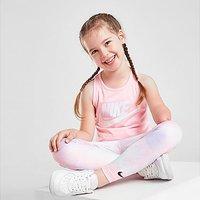 Nike Girls' All Over Print Tie Dye Leggings Children - Pink - Kids