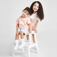 Puma Girls' Essential T-Shirt/Shorts Set Infant - Pink - Kids
