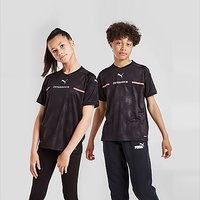 Puma Austria 2021 Away Shirt Junior - Black - Kids