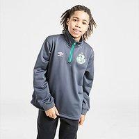 Umbro Shamrock Rovers FC 1/4 Zip Top - Grey - Kids