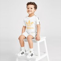 adidas Originals Tape T-Shirt/Shorts Set Infant - White - Kids