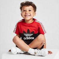 adidas Originals Sliced T-Shirt/Shorts Set Infant - Black - Kids