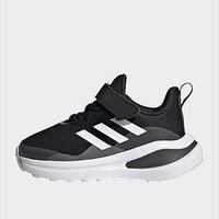 adidas FortaRun Elastic Lace Top Strap Running Shoes - Core Black