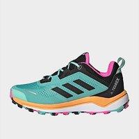 adidas Terrex Agravic Flow Primegreen Trail Running Shoes - Acid Mint