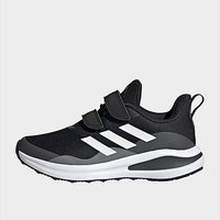 adidas FortaRun Double Strap Running Shoes - Core Black