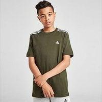 adidas 3-Stripes Sport T-Shirt Junior - Green - Kids