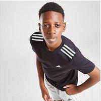 adidas 3-Stripes Sport T-Shirt Junior - Black - Kids