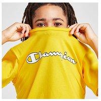Champion Core Logo T-Shirt Junior - Yellow - Kids