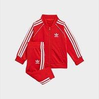 adidas Originals SST Tracksuit Infant - Red  - Kids