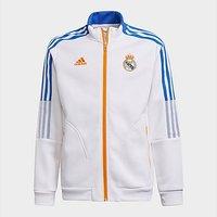 adidas Real Madrid Tiro Anthem Jacket - White
