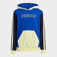 adidas Lil Stripe Hoodie - Bold Blue