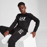 Emporio Armani EA7 Visibility Crew Sweatshirt Junior - Black - Kids