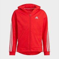 adidas 3-Stripes Full-Zip Hoodie - Vivid Red