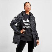 adidas Essential Down Parka Jacket - Black - Womens