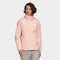 adidas BSC 3-Stripes Insulated Winter Jacket - Haze Coral - Womens