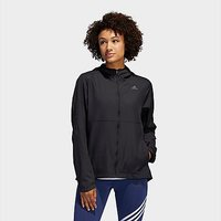 adidas Own the Run Hooded Windbreaker - Black