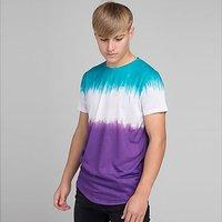 ILLUSIVE LONDON Tie Dye T-Shirt Junior - Multi Coloured - Kids