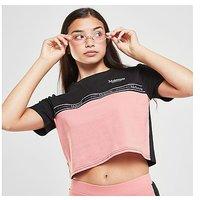 McKenzie Girls' Isla Panel T-Shirt Junior - BLACK