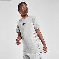 Champion Tape Box Logo T-Shirt Junior - Grey - Kids
