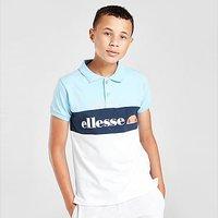 Ellesse Colour Block Polo Shirt Junior - Blue - Kids