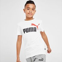 Puma Essential Logo T-Shirt Junior - WHITE - Kids