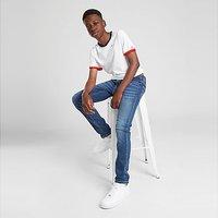 Tommy Hilfiger Ringer T-Shirt Junior - White - Kids