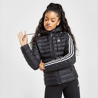 adidas Originals 3-Stripes Slim Padded Jacket - Black - Womens