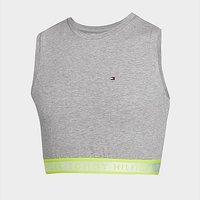 Tommy Hilfiger Girls' Tape Sports Top Junior - Grey - Kids