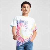 Vans Tie Dye Box T-Shirt Junior - Multi Coloured - Kids