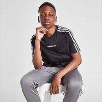 adidas Originals Tape Poly T-Shirt Junior - Black - Kids