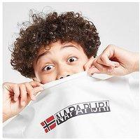 Napapijri Large Logo T-Shirt Junior - White - Kids