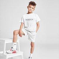 McKenzie Mini Adley T-Shirt/Shorts Set Children - White - Kids