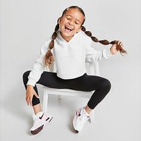 Sonneti Girls' Mini Essential Cropped Hoodie Children - White - Kids