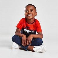 Lacoste Colour Block Croc T-Shirt Children - Navy - Kids