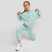 Nike Girls' Washed Full Zip Hoodie Children - Green - Kids