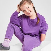 Nike Girls' Washed Crew Sweatshirt Children - Purple - Kids
