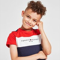 Tommy Hilfiger Essential Colour Block T-Shirt Children - Navy - Kids