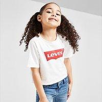 Levis Girls' Batwing Crop T-Shirt Children - White - Kids