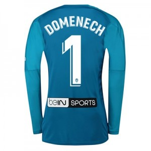 Valencia CF Goalkeeper Shirt 2018-19 with Domenech 1 printing