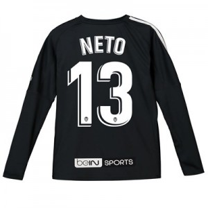 Valencia CF Goalkeeper Shirt 2018-19 - Kids with Neto 13 printing
